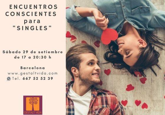 """Nuevo encuentro consciente para """"singles"""""""