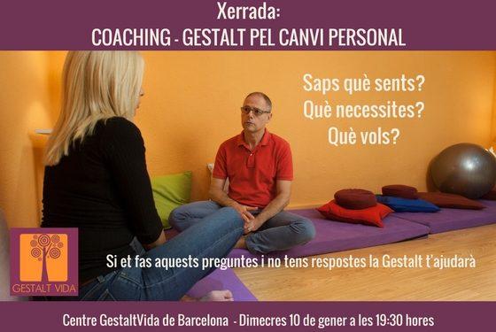 Charla: Coaching – Gestalt para el cambio personal