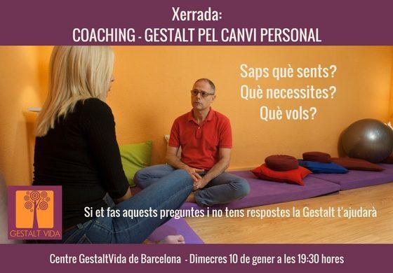 Xerrada: Coaching – Gestalt pel canvi personal