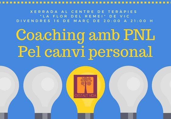 Xerrada sobre Coaching amb PNL a Vic