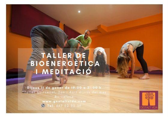 Taller de Bioenergètica i Meditació a Barcelona