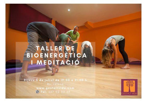 Proper taller de Bioenergètica i Meditació a Barcelona
