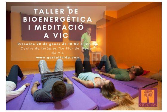 Taller de Bioenergética y Meditación en Vic
