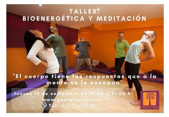 Taller: Bioenegética y Meditación