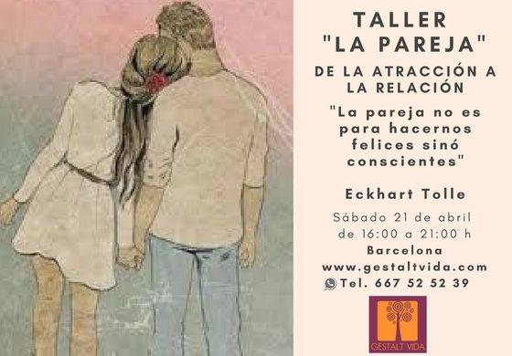 """Próxima edición del taller: """"La Pareja"""""""