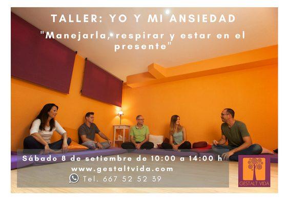 Taller: Yo y mi Ansiedad