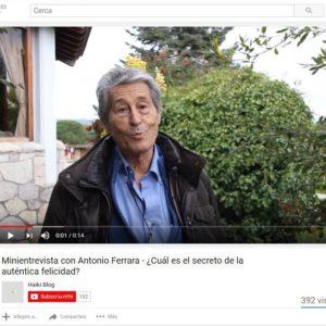 El secret de l'autèntica felicitat per Antonio Ferrara