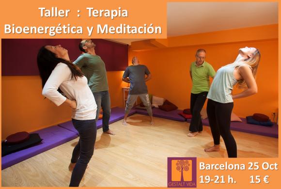 Taller: Terapia Bioenergética y Meditación