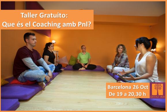 Taller Gratuito: ¿Que es el Coaching con PNL?