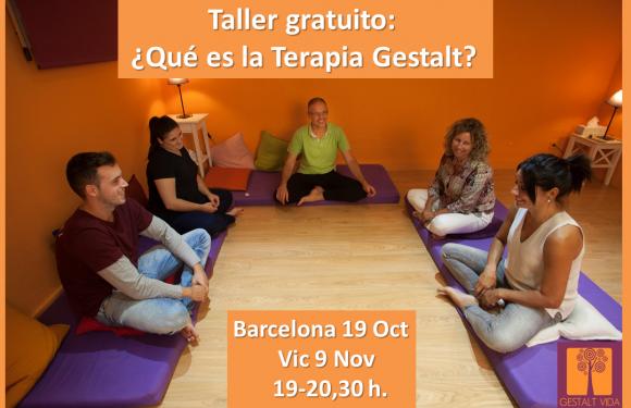 Taller Gratuito: ¿Que es la Terapia Gestalt?