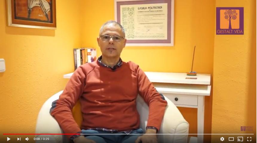Video de presentación Artur Canals, Terapeuta Gestalt.